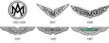 lich su logo aston martin